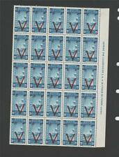 Ethiopia 268-72 Mint NH Sheets of 25 1945 Nurse & Baby Red Cross Croix Rouge !