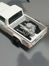 Custom 1:64 Scale V8 Engine With Pan Filter Hot Wheels Matchbox