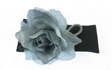 bleu cheveux gris Élastique Fleur (EA)
