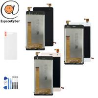 Ecran LCD + Vitre tactile Wiko Jerry 2 Noir Or Blanc