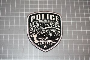 City Of Miami Gardens Florida Police K-9 Patch (S03-1)