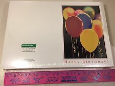 100 HAPPY BIRTHDAY CARDS FEATURING COLORFUL BALLOONS NEW UNOPENED FREE SHIPPING