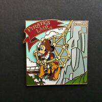 DLR Pirate's Lair on Tom Sawyer Island - Mickey Mouse and Pluto Disney Pin 60946
