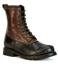 New in Box - $398 FRYE Veronica Duck Black Leather/Shearling Boot Size 6.5