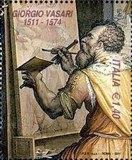2011 italia repubblica 500° nascita di Giorgio Vasari MNH