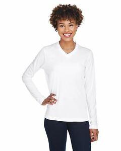 Team 365 T-Shirts Womens Zone Performance Long-Sleeve T-Shirt TT11WL