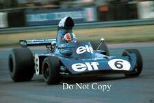 Francois Cevert Elf Tyrell 006 British Grand Prix 1973 Photograph 1