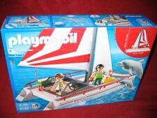 Playmobil ® 5130 catamarán con los delfines y beberemos nuevo embalaje original