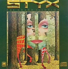 STYX - Grand Illusion CD - Early Pressing Made in Japan Audio Master Plus Series
