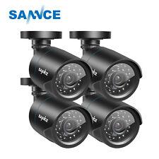 SANNCE 900TVL CCTV Home Security Camera Outdoor Night Vision Weatherproof IR CUT