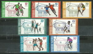 TOGO 1969 '' SPORTS '' SET POST+AIR USED (60)