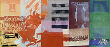 Robert Rauschenberg: Wild Strawberry Eclipse. Offsetdruck