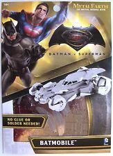 METAL EARTH 3D MODEL KIT - BATMAN v SUPERMAN DAWN OF JUSTICE BATMOBILE - NEW!