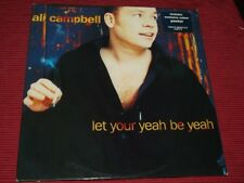 """Ali Campbell  (UB40):  Let Your Yeah Be Yeah  Near Mint  10""""  + poster"""