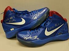 "Blake Griffin Signed ""09 #1 Pick"" ""2011 ROY"" Nike Shoes Pair Panini Authentic"