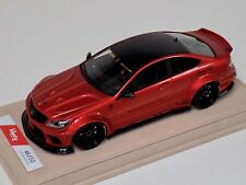 1/18 Mercedes Benz CLK C63 AMG Liberty Walk LB Performance Red Alcantara