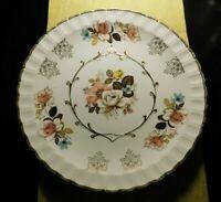 AVON BY WOOD & SONS BURSLEM ENGLAND ALPINE WHITE IRONSTONE PLATE!   c883DXX