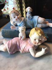 Porcelain Pair Of Bye-Lo Babies GUC