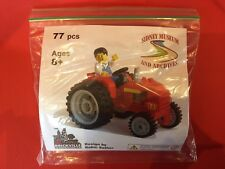 LEGO Certified Professional Tractor Sidney Museum and Archives Limited Edit RARE