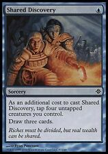 4x Shared Discovery Rise of the Eldrazi MtG Magic Blue Common 4 x4 Card Cards