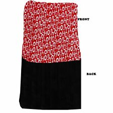 New listing Mirage Pet Products Luxurious Plush Carrier Blanket Santa Says