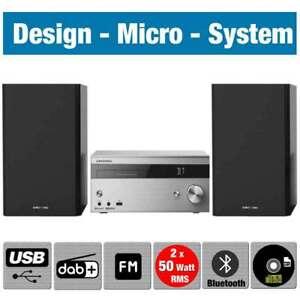 Grundig CMS 4000 BT DAB+ Micro Anlage CD Player Bluetooth Stereoanlage  Kompakt