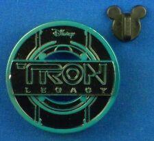 Tron Legacy Logo Identity Disc 2010 Disney Pin # 80593