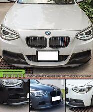 P Style Carbon Fiber Front Bumper Lip For BMW 1 Series F20 F21  w / M Sport
