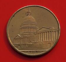 Metal Medal Medallion Politics USA US Capitol Washington DC America American