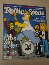 ROLLINGSTONE=2006=MAGAZINE ISSUE=THE WHO OMER SIMPSON=AMY LEE=GERARD WAY=MAMONE=