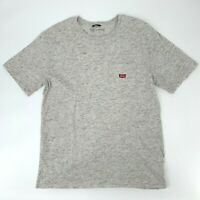 Brixton Premium Fit T-Shirt Men's Size XL Gray Short Sleeve Crew Neck Cotton Tee