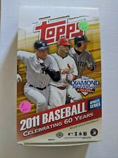 2011 Topps Update Hobby Box Opened - Empty + 7 empty packs - trout - No cards