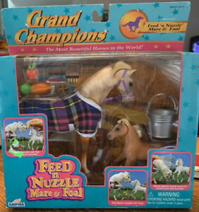NIB 1996 Empire Grand Champions Feed 'n Nuzzle Mare & Foal 50112