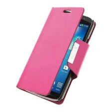 Pour Samsung Galaxy Note 4, Housse Etui Portefeuille Coque Rose Magnetique Anti