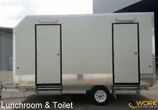 Site Office, Lunchroom & Toilet 16ft Caravan - NEW 2015 WORK Caravans