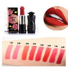 8 COLORES PENE barra de labios SETA Pintalabios DURADERO MATE Maquillaje belleza