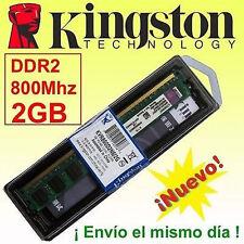 Memoria RAM DDR2  2GB 800 Mhz Kingston - ¡ NUEVA ! - NO COMPATIBLE CON INTEL