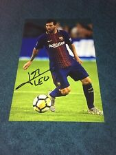 Lionel Messi Photo Dedicace Autograph Football France Champions