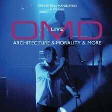 OMD (ORCHESTRAL MANOEUVRES IN THE DARK) - LIVE-ARCHITECTURE & MORALITY...CD NEU