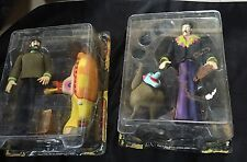 Beatles John Lennon&George Harrison Yellow Submarine Figures unplayed Mcfarlane