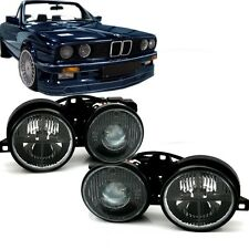 SMOKED PROJECTOR STYLE HEADLIGHTS HEADLAMPS FOR THE BMW E30 3 SERIES 22359