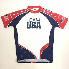 VOLER Team USA Ride for Gold Cycling Jersey Men's XL Club Raglan Made in USA NEW