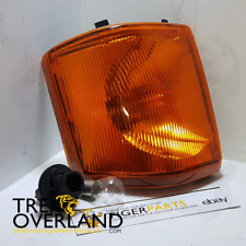 Land Rover Discovery 1 Front Left Amber Indicator Light, Bulb & Holder XBD100770