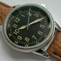 WW2 1940 US ARMY AIR FORCE & MARINE FLYING CORPS AIRMANS PILOTS WATCH REPLICA
