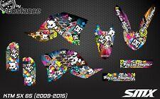 KTM SX 65 2009-2015 MX motocross graphics kit decals set SX65 2010 2012 SMX SXF