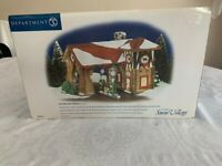 *New in Box* Department Dept 56 - Last Stop Gas Station - Snow Village - 55012