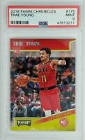 2018-19 Panini Chronicles Playoff Trae Young Rookie RC #175, Graded PSA 9