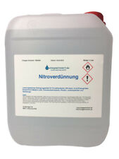 5 Liter Nitroverdünnung Waschverdünnung Universal Verdünnung 5L Kanister
