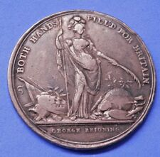 1736 Jergenans Lottery Medal silver medallion by Tanner.