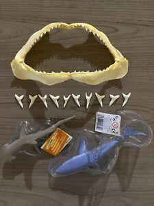 Collector Kit 13 - Hammerhead Shark Jaw, Mako Shark Teeth w/toy, Bonnethead Toy